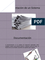 documentación de un sistema.ppt