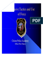 NPD DT and Use of Force
