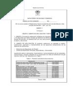 Reglamento Tecnico de Distribucuion de Gas