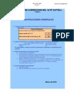 Programa Correccion 16pf Forma A