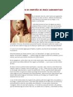 15 minutos en compañia de jesus sacramentado