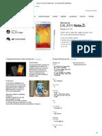 GALAXY Note 3 _ SAMSUNG - INFORMACIÓN GENERAL