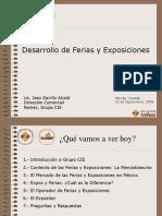Desarrollo de Ferias y Exposiciones