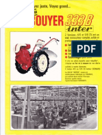 Bouyer 333B Brochure