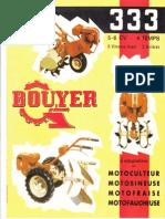 Bouyer 333 plaquette