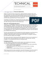 Planning an audit of financial statements.pdf