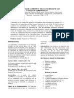 132933450 Determinacion de Carbonato de Calcio Mediante Una Titulacion en Retroceso