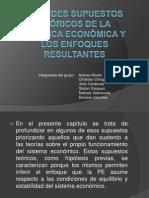 GRANDES SUPUESTOS TEÓRICOS DE LA POLÍTICA ECONÓMICA Y