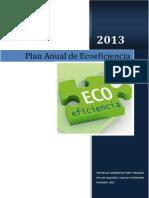 Plan Anual de Ecoeficiencia 2013