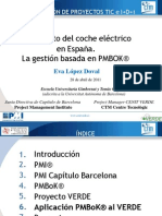 Proyecto Coche Electrico Pmbok