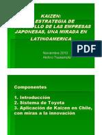 Akihiro Tsukamoto-primer Seminario Kaizen - Chile