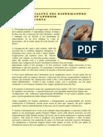 Gli Otto Qualità del Riformatore Secondo Sant'Antonio Maria Zaccaria
