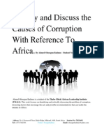 Identify and Discuss the Causes of Corruption With Reference To Africa - Shortcut (2).pdf