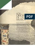 Historia de La Musica-001-Los Origenes de La Musica