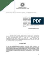 Representação à PGR sobre sigilo em relação a empréstimos a Cuba e Angola