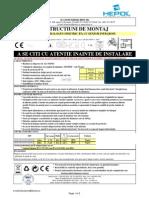 Instructiuni de Montaj Proiector Cu Senzor 150w120w 1013543 i