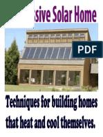 Sofar energy ln your home-Passive-Solar-Home.