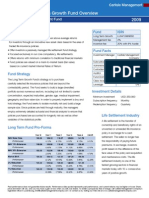 Long Term Growth Fund Fact Sheet