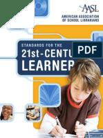 aasl learning standards 2007