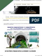HAY QUE PONER A TRABAJAR JUNTAS A LA ECONOMÍA Y A LA ECOLOGÍA_AyDoAgua.com_La Caja de Pandora_BCN_4Nov2013.pdf