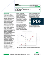 Optimisation of Water Treatment