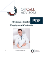 Physician's Guide to Employment Contracts