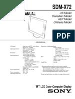 SONY SDM-X72 SM.pdf