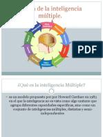 Teoría de la inteligencia múltiple