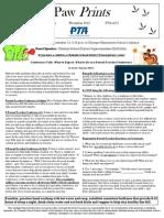 November 2013 PTA Newsletter