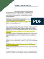 Banco de Preguntas Sociales f