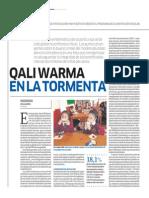 Qali Warma en la tormenta - Lorena Alcázar - El Comercio - 031113