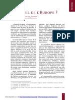 Le réveil de l'Europe de Hugues de Jouvenel.pdf