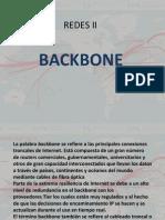 Redes II Backbone