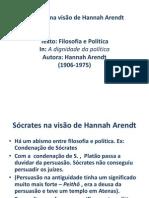696993_Filosofia I  Sócrates na visão de Hannah Arendt