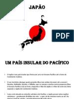 29.10.2013 TRABALHO DE FORMAÇÃO DO MUNDO CONTEMPORÂNEO   TEMA-JAPÃO