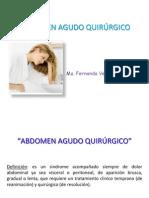 Abdomen Agudo Quirúrgico FerCx