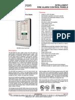 CAT-1006 MR-2900 MR-2920 Addressable Fire Alarm Control Panels
