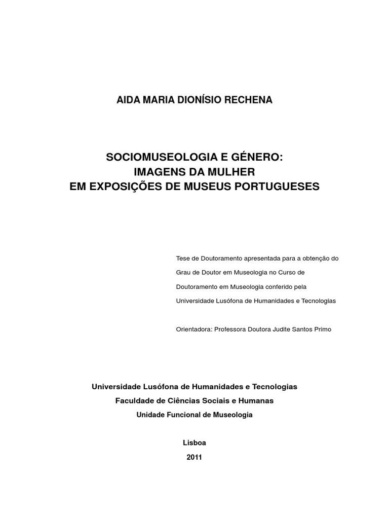 Aidarechena sociomuseologia genero fandeluxe Choice Image