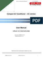 8811P Manual Aire Acondicionado