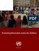 Srsgvac Restorative Justice for Children Report