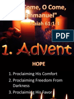 Advent Sermon Outline: A Time of Waiting
