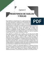 Capítulo 8 RESISTENCIA DE SUELOS Y ROCAS
