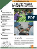 Cartilla Sector Primario y Extractivo