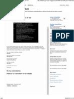 Linux_ Comando Para Ver Interfaces de Red