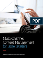 Multi-Channel Content Management for Large Retailers