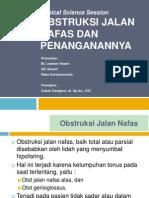 CSS Obstruksi Jalan Nafas Luck7.pptx