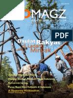 GEOMagz. Majalah Geologi Populer. Volume 3 Nomor 3 Tahun 2013. Daulat Rakyat di Ladang Minyak