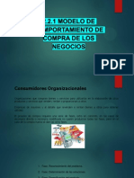 2.2.1 Modelo de Comportamiento de Compra de Los Negocios