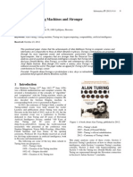Alan Turing, Turing Machines and Stronger