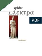 Electra - Eurípedes